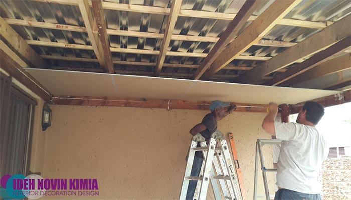 اجرا-سقف-کاذب-در-صنعت-ساختمان-سازی