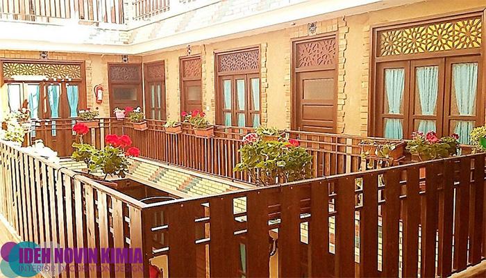 طراحی داخلی خانه های سنتی ایرانی